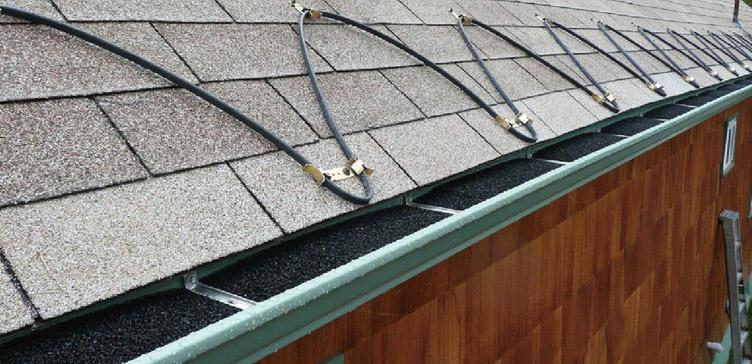 Roof & Gutter de-icing